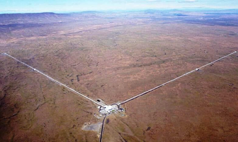 Aerial view of LIGO Hanford