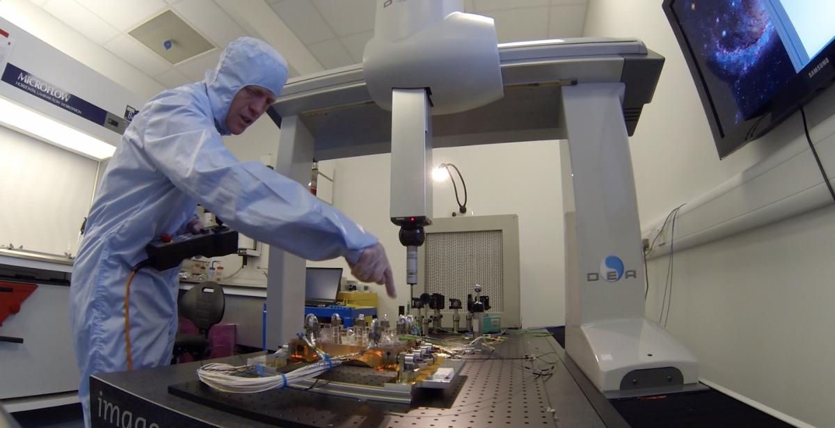 IGR - Optical Bench Testing