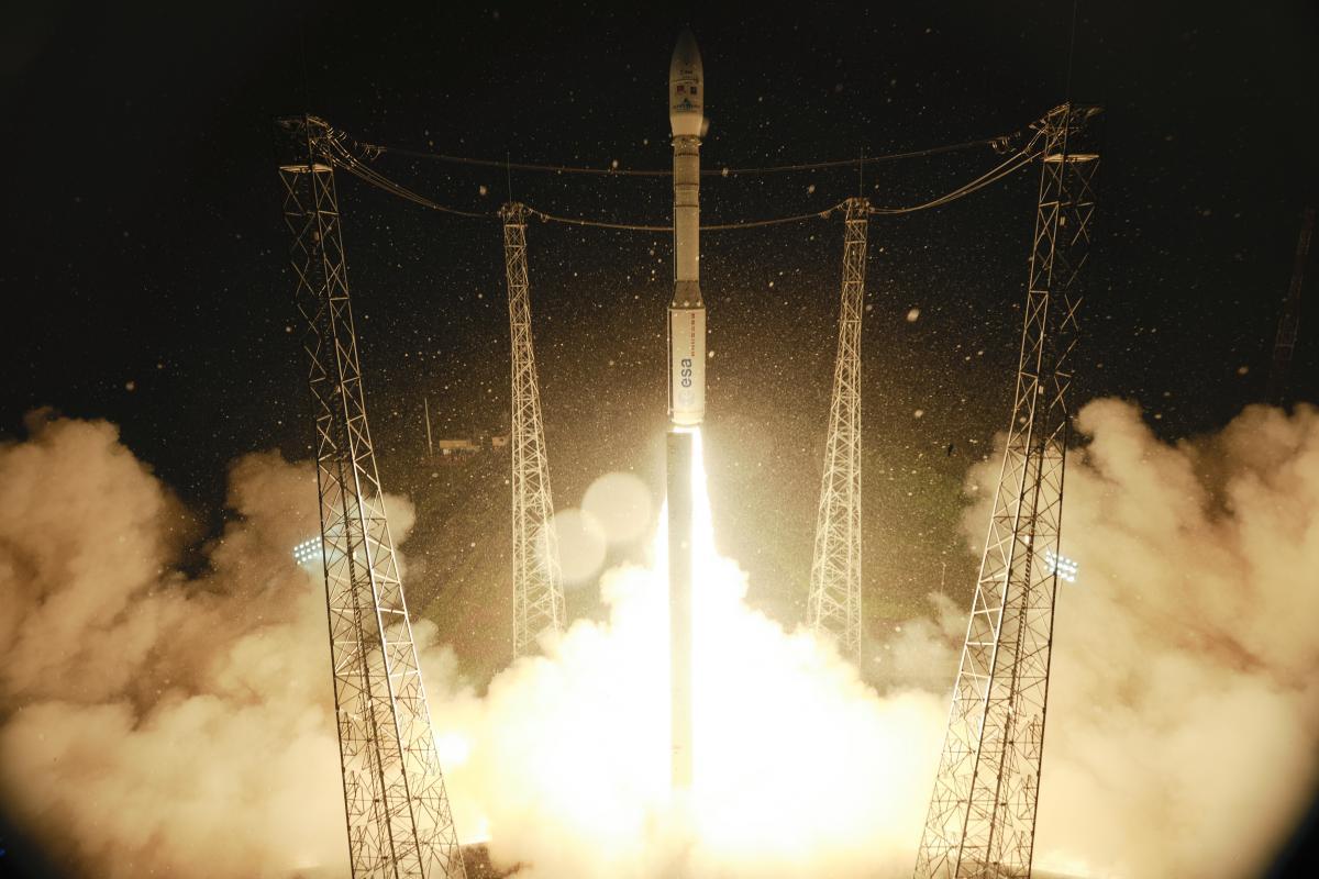 Liftoff of VEGA VV02