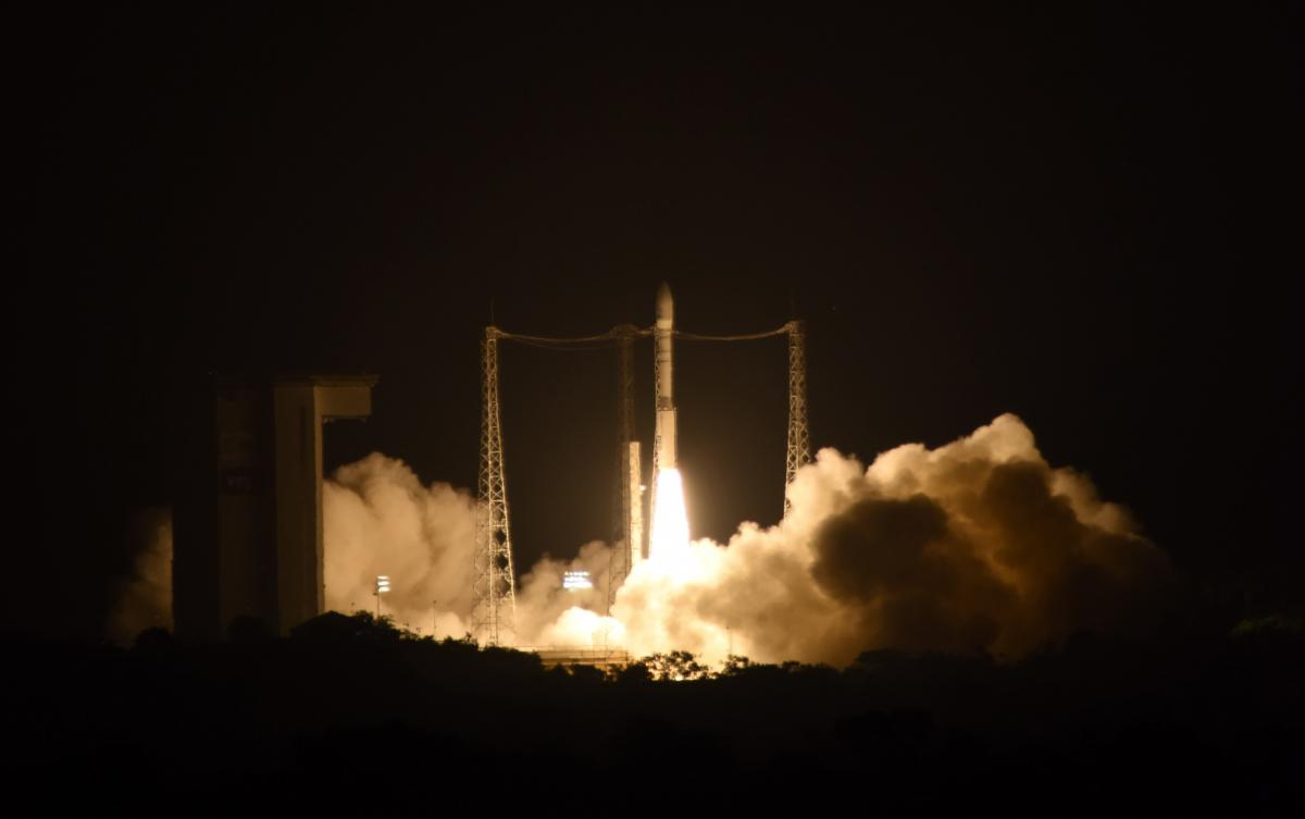 LISA Pathfinder lift-off on Vega VV06