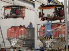 LPF assembly at Astrium UK