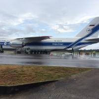 LISA Pathfinder Antonov at Cayenne Airport