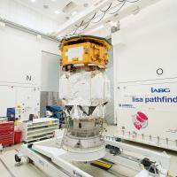 LISA Pathfinder launch composite